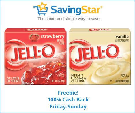 Free Jello Pudding or Gelatin From SavingStar