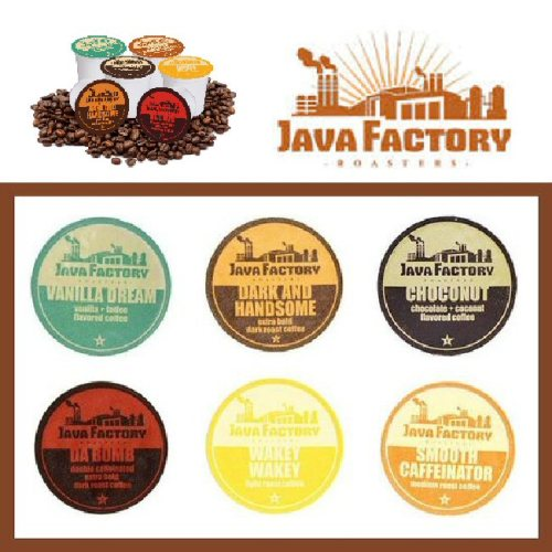 Two Rivers Coffee has graciously offered to give one lucky winner a 40 count Java Factory variety box of Single Cup Coffee for Keurig K Cup Brewers!