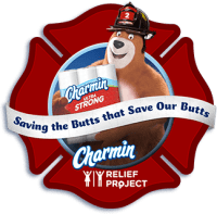 Charmin Relief Project Saving The Butts That Save Our Butts Button
