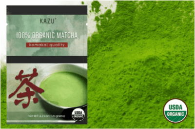 Kazu Organic Komakai Matcha Green Tea is perfect your your Japanese Tea Ceremony