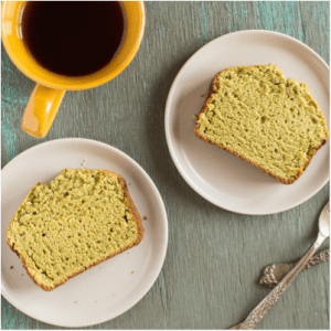 ONE ORGANIC Matcha Cake Recipe made with Green Tea Powder