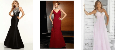 What Does Your Evening Dress Say About You?