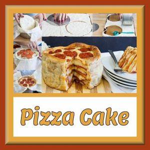 Pillsbury Pepperoni Pizza Cake Recipe