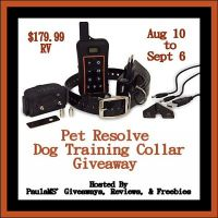 Win a Pet Resolve Dog Training Collar