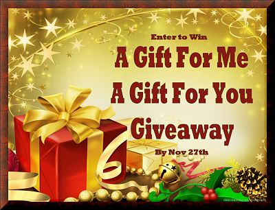 A Gift For Me - A Gift For You Giveaway