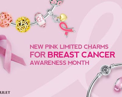 October is National Breast Cancer Awareness Month #GlamuletPinkOctober