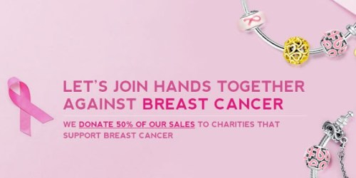 National Breast Cancer Awareness Month 50 percent #GlamuletPinkOctober