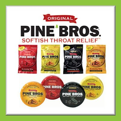 Pine Brothers 15 Piece Variety Prize Package Giveaway