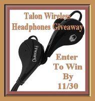 TalonWireless Headphones Giveaway
