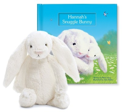 i See Me Books has Easter covered! Enter to Win this Snuggle Bunny Set