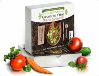 Garden for a Year Giveaway - Win aAbundant Living Deluxe Heirloom Gardening Kit