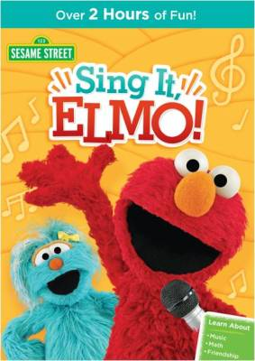 Sesame Street: Sing It, Elmo! Available on DVD 5/3 – Get ready for a jam session with everyone's favorite furry monsters!