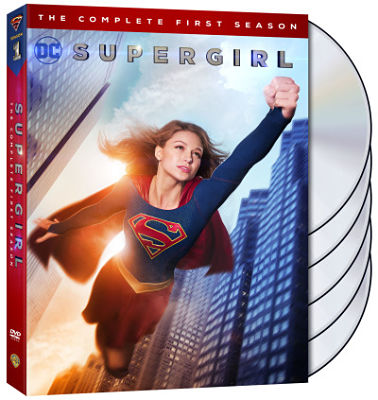 Supergirl: The Complete First Season on Blu-ray and DVD