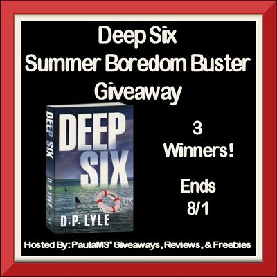 Deep Six Summer Boredom Buster Giveaway Ends 8/1