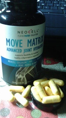 Move Matrix Scientifically advanced ingredients that work synergistically in the body to promote healthy joints