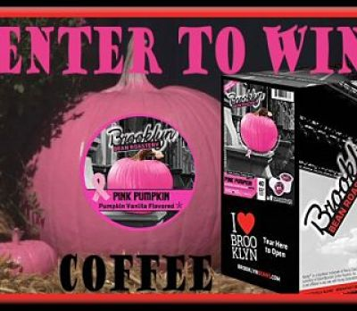 Enter to #WIN @BrooklynBeans1 #Coffee in this #BreastCancerAwareness #Giveaway by 10/31