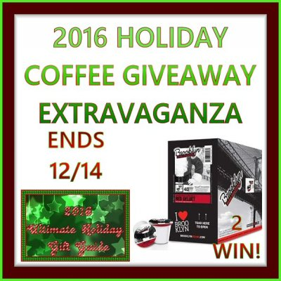 BBR Red Velvet Coffee Extravaganza Giveaway Ends 12/14/16