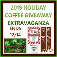 TRC Holiday Sampler Coffee Extravaganza Giveaway