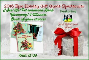 Epic HolidayI See Me! Personalized BookGiveaway
