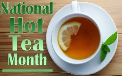 Explore The World Of Tea During Hot Tea Month This January