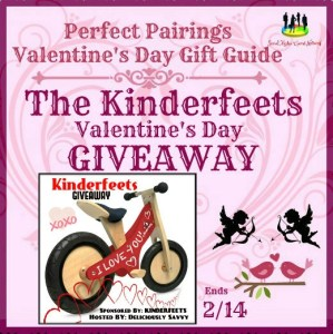 The Kinderfeets Valentine's Day Wooden Pushbike Giveaway Ends 2/14