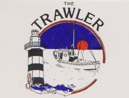 The Trawler Restaurant on Shem Creek in Mount Pleasant, South Carolina