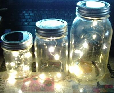 Solar Powered Fireflies