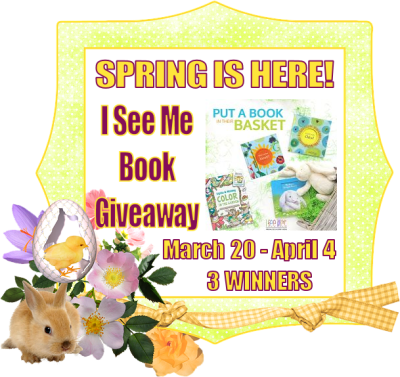 Spring Is Here! I See Me Giveaway - 3 WINNERS