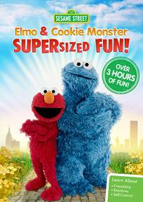 SESAME STREET: ELMO AND COOKIE MONSTER SUPERSIZED FUN