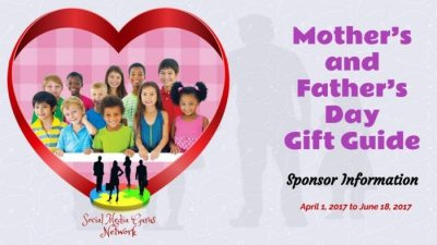 Mother's and Father's Day Gift Guide Sponsor Information