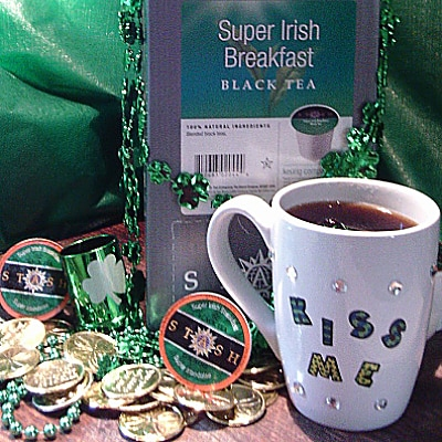 Stash Super Irish Breakfast Tea St. Patrick's Day Lucky Leprechaun Giveaway ends 3/17