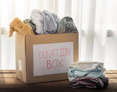 Let's Do This! Spring Cleaning with a Purpose Donation Box