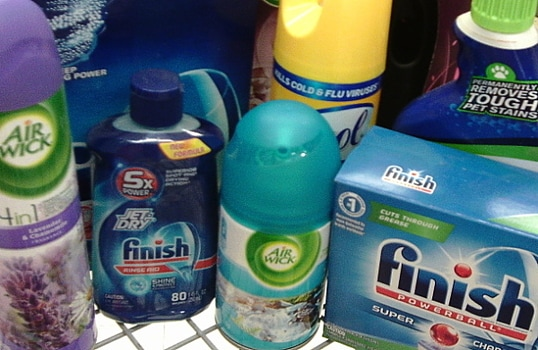 Everyday Saves - Spring cleaning with your dishwasher! Lysol/Woolite/Air Wick/Finish are your must-haves for spring cleaning
