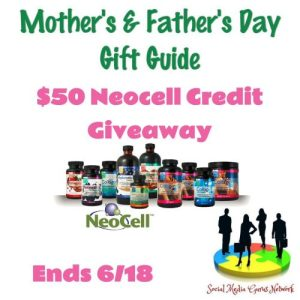 $50 Neocell Father's Day Gift Guide Giveaway Ends 6/18