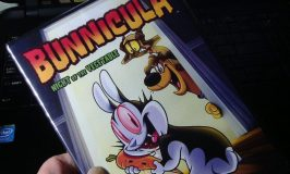 I meet the world's most adorable vampire, Bunnicula!