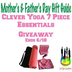 Clever Yoga 7 Piece Essentials Gift Guide Giveaway Ends 6/18