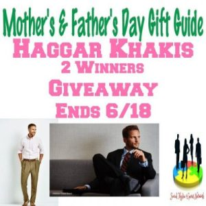 Haggar Khakis Gift Guide Giveaway Ends 6/18 – 2 Winners