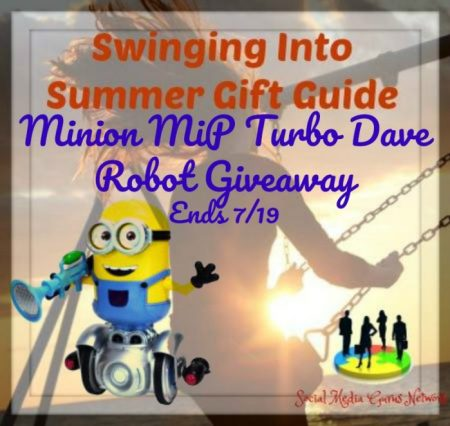Minion MiP Turbo Dave Robot Giveaway