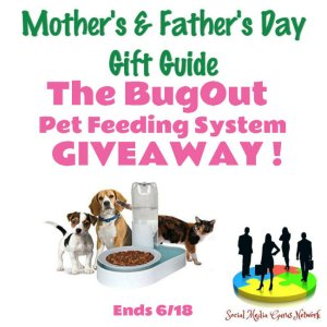 The BugOut Pet Feeding System Gift Guide Giveaway Ends 6/18