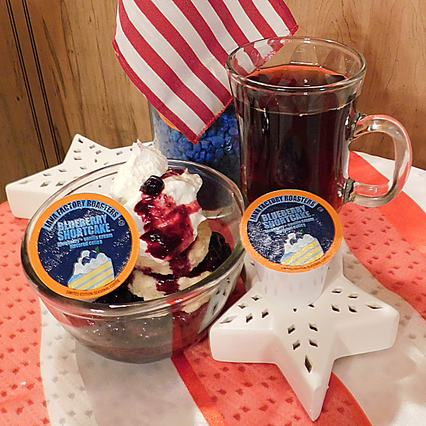 With the Memorial Day and the Fourth of July just around the corner putting both strawberries and blueberries on this shortcake would make a great RED, WHITE, AND BLUE dessert! #July4th #FourthofJuly #MemorialDay #Dessert #Recipe #RedWhiteandBlue #Patriotic #July4 #Military #ArmedForces #USA