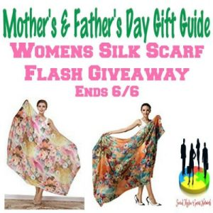 Womens Silk Scarf Flash Gift Guide Giveaway Ends 6/6
