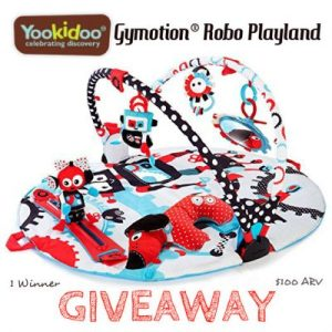 Yookidoo Gymotion Robo Playland Giveaway – Ends 7/22