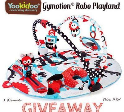 Yookidoo Gymotion Robo Playland Giveaway – Ends 7/22