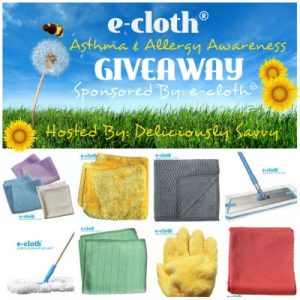e-cloth® Asthma & Allergy Awareness Bundle Giveaway Ends 6/30