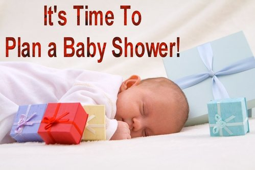It's Time To Plan a Baby Shower!
