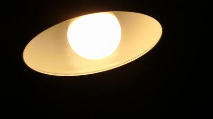 SANSI LED Light Bulb, Ceramic Body and Glass Mask, E26 Base, 510lm, 5w (40w Equivalent), A15 LED Bulb