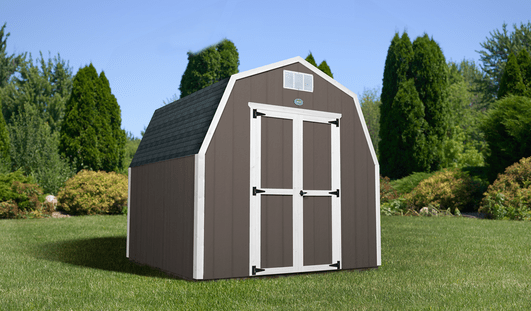 SHED IN THE BACKYARD