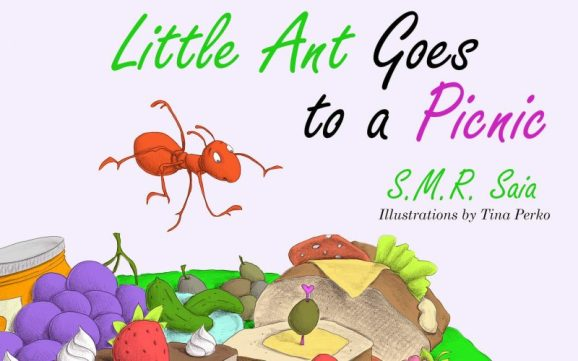 Little Ant Goes to a Picnic - Moral - Look Before You Leap - Little Ant Books Book 2