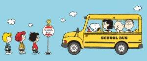 Peanuts Gang School Bus