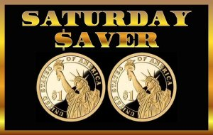 Saturday Saver 9/2 – Start Saving With These Amazon Deals Under $2!!!